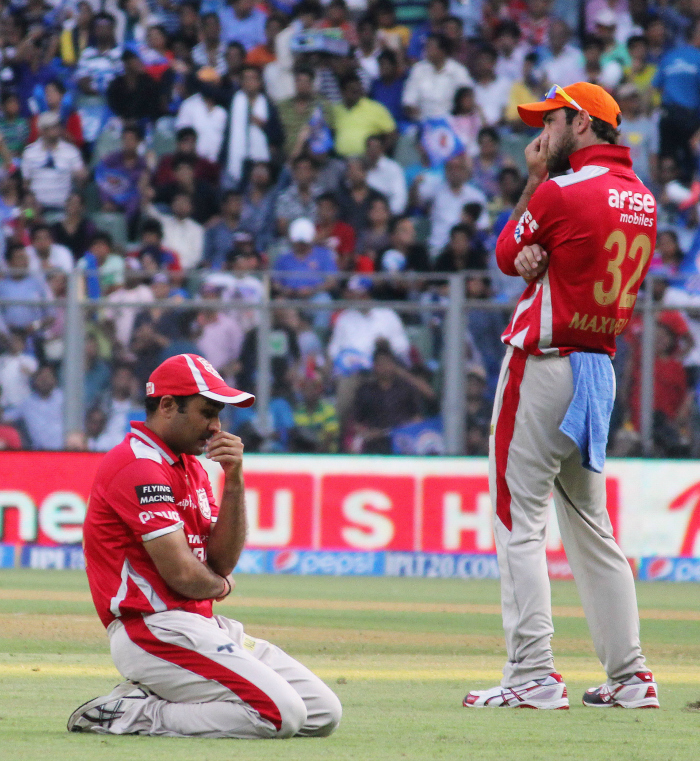 Sehwag with Maxwell
