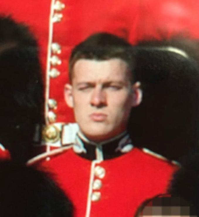 Allen british guardsman transgender 2