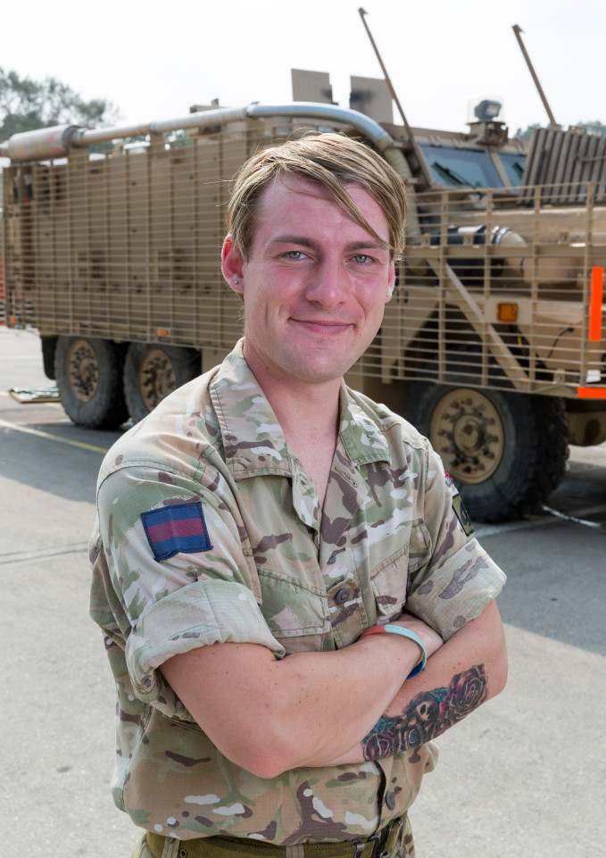 Allen british guardsman transgender