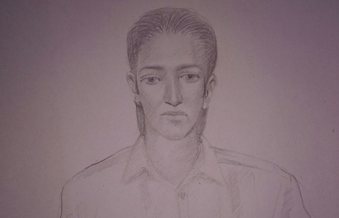 Sketch of Suspect