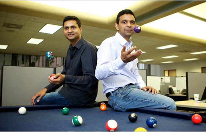 Venky Harinarayan and Anand Rajaraman