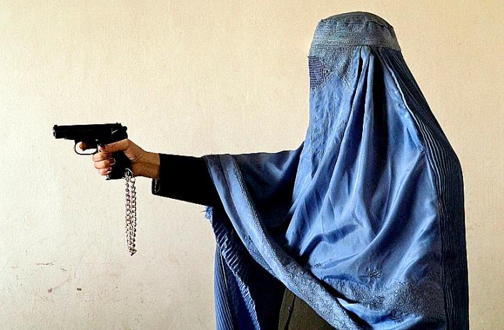 Burqa gun