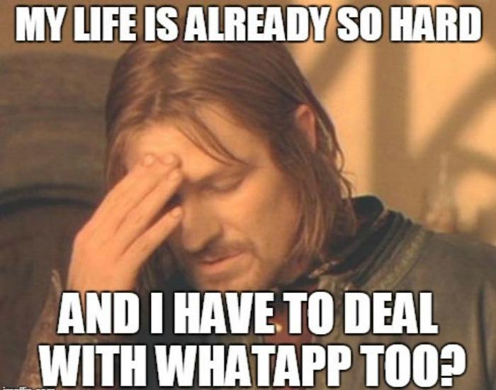 WhatsApp meme