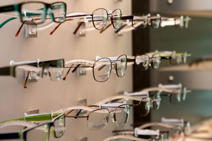 They made glasses for Gandhi, maharajas, foreign diplomats