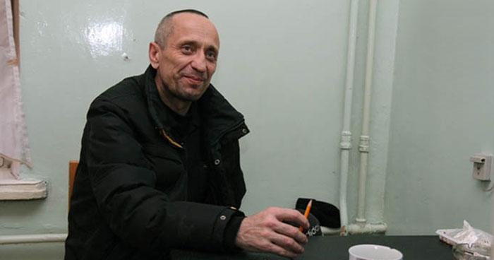 police officer Mikhail Popkov