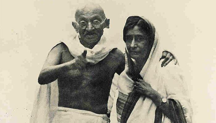 Gandhi G and Rajkumari Amrit Kaur