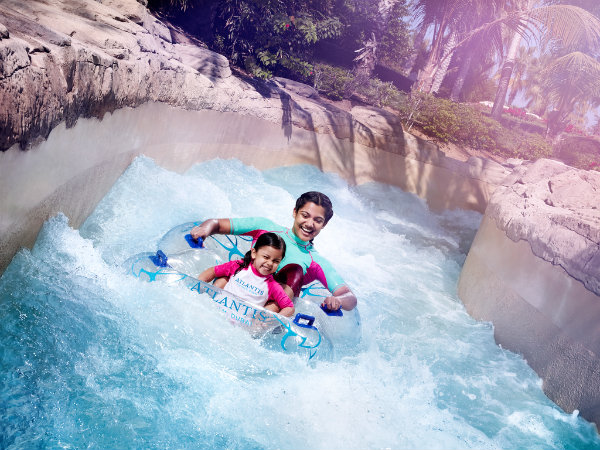 water rides dubai