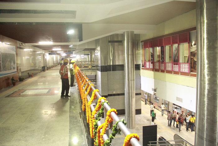 Rapid Metro Gurugram To Delhi