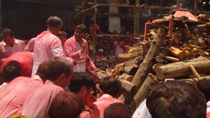 Gujarat funeral jain monk