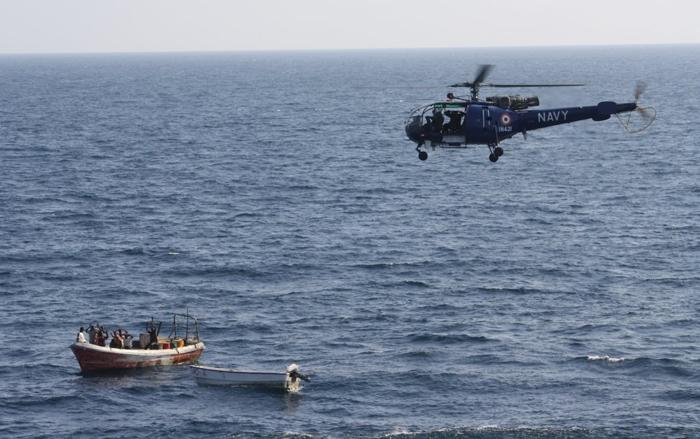 Navy plane thwarts piracy bid in Arabian Sea
