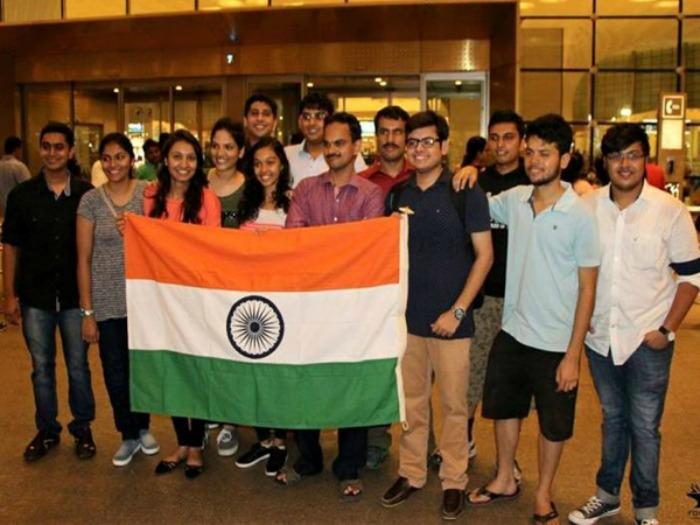 Students of Mukesh Patel School of Technology Management in Mumbai