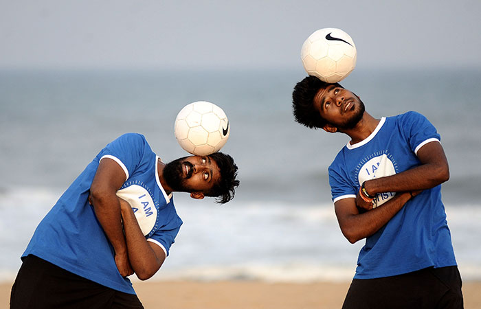freestyle footballers