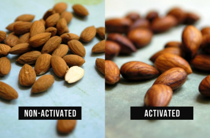 Here is the average number of hours some of the most common nuts and seeds need to be soaked to make them more digestible