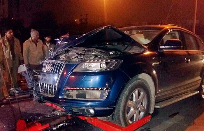 Ghaziabad Audi Hit And Run