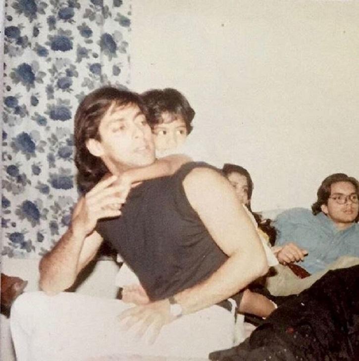 Salman Khan with Arpita