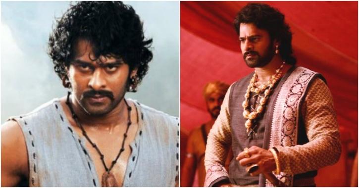 Prabhas as Shivudu/ Mahendra Bahubali, Amarendra Bahubali