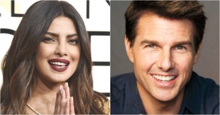 Priyanka Chopra, Tom Cruise