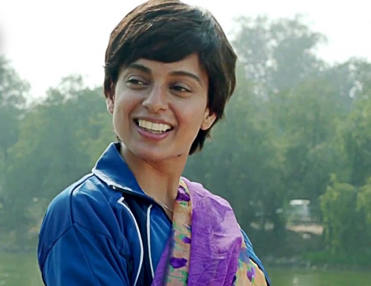 Kangana Ranaut as Datto in Tanu Weds Manu Returns