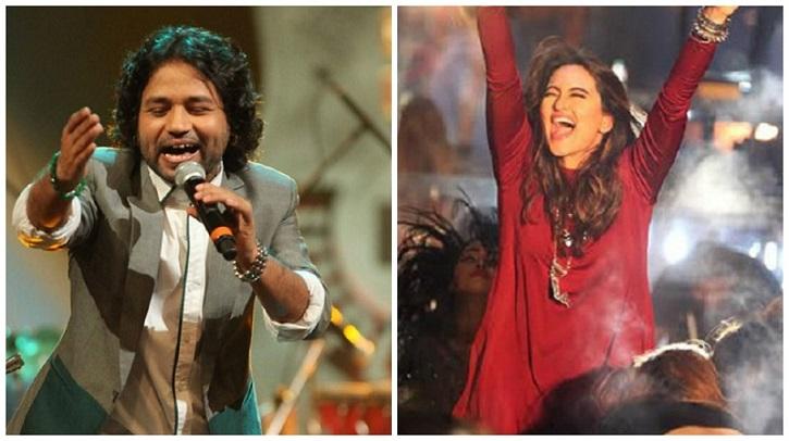 Sonakshi Sinha and Kailash Kher