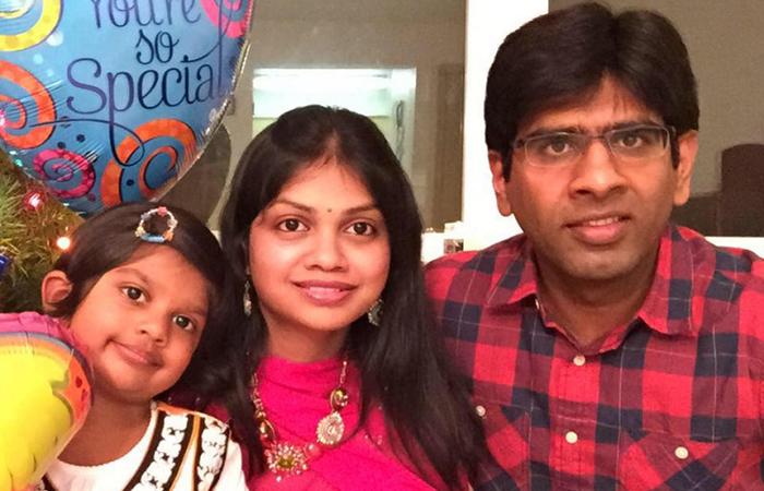Madhukar Reddy Family Photo