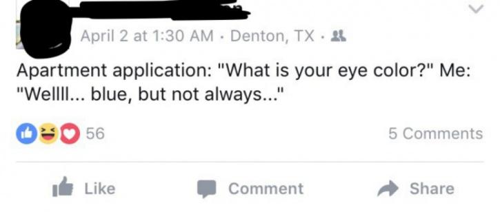 Blind Guy Humour