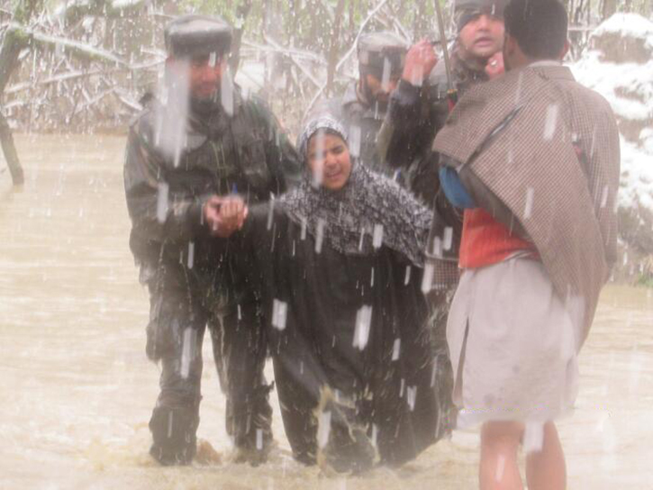 Indian Army rescue ops Kashmir