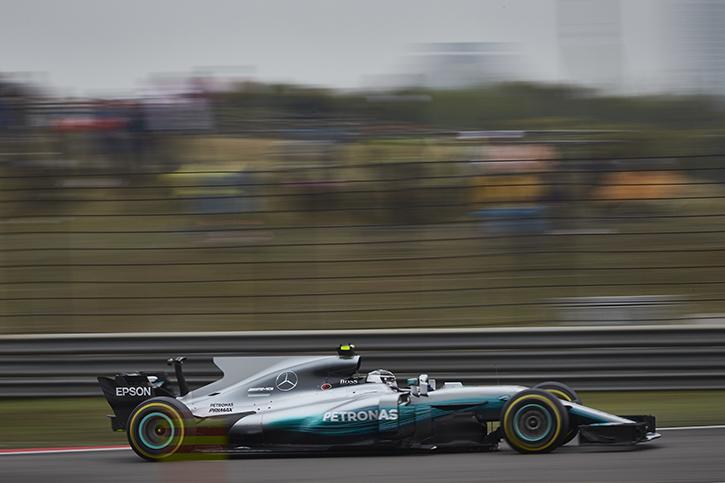 Mercedes Shanghai GP 2017
