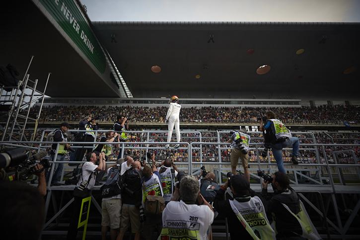 Lewis Hamilton Shanghai GP 2017