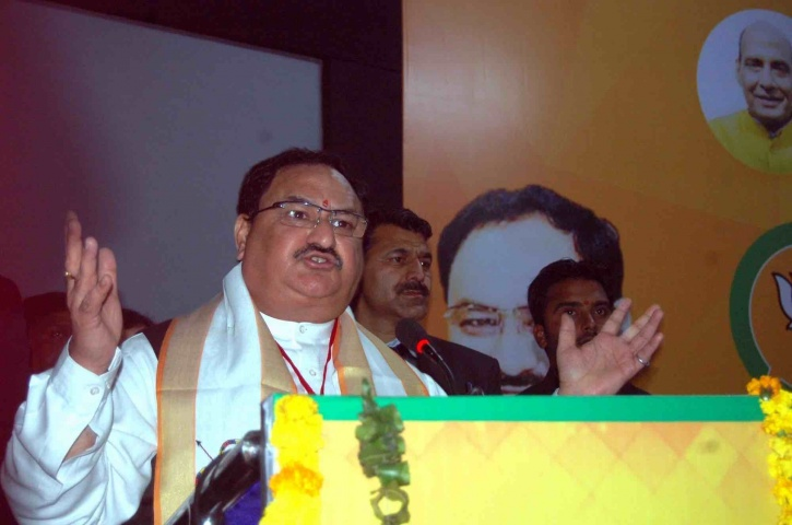 the Union Minister of Health J.P. Nadda on National Mental Health Policy