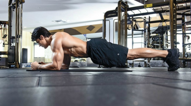 planks recruit several muscles around your core region; including your sides, front, and back.