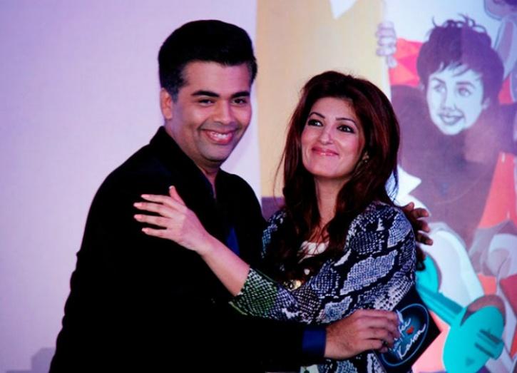 Twinkle Khanna Karan Johar