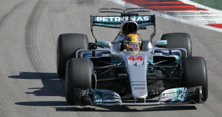 lewis hamilton F1 racecar