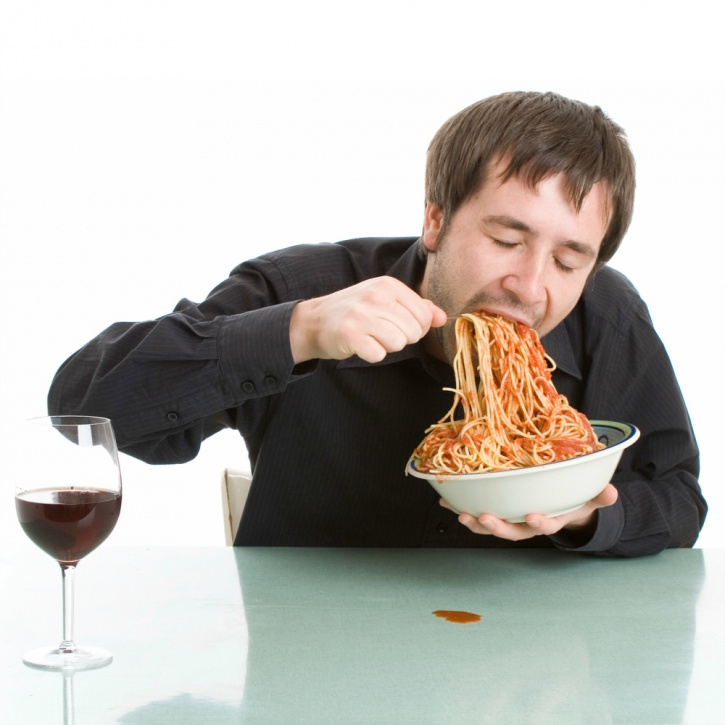 Faster eating has also been linked to an increase in a person's risk for developing metabolic syndrome
