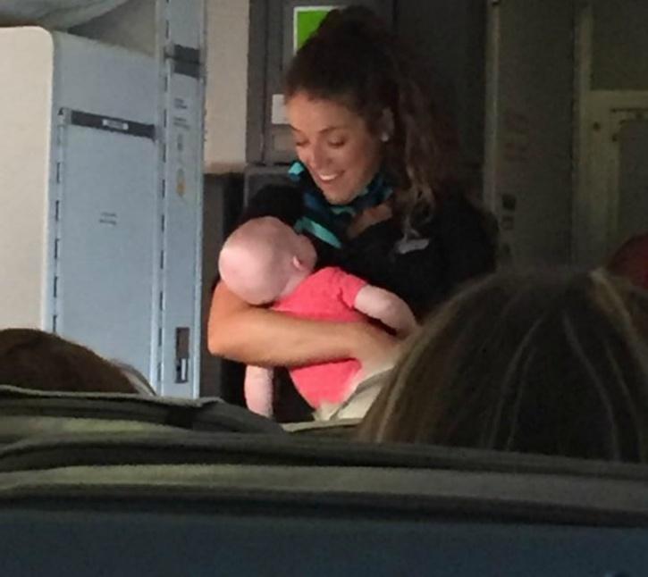 flight attendant, WestJet