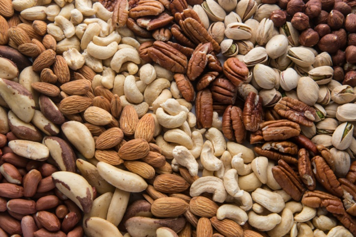 nuts contain raw seeds, especially nuts contain a moderate level of phytic acid