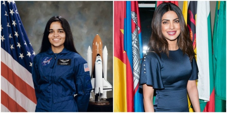 Kalpana Chawla and Priyanka Chopra