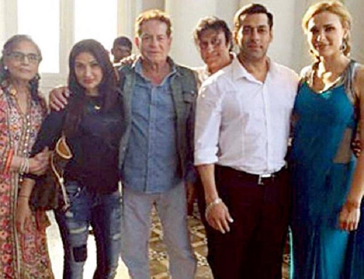 Salman Khan with family