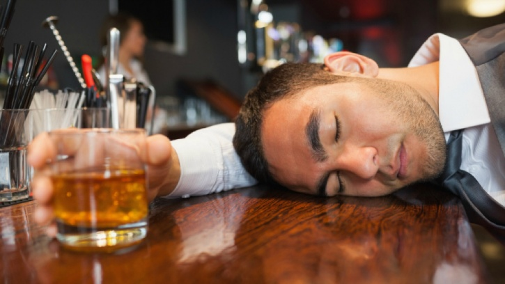 Get in sleep to reduce the effects of alcohol