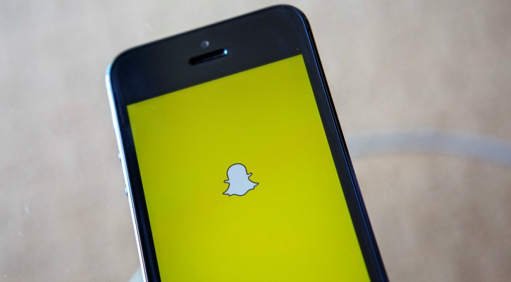 Snapchat iPhone app