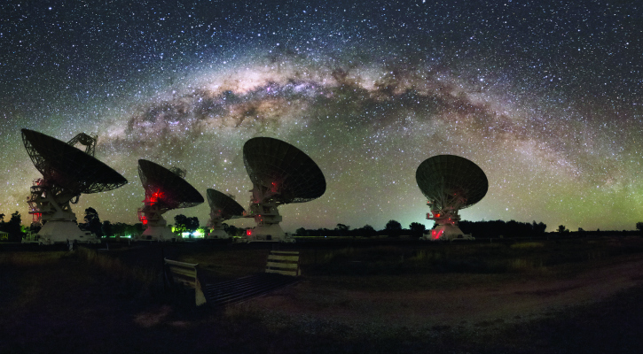 The CSIRO Compact Array telescope first picked up the FRB's afterglow - CSIRO