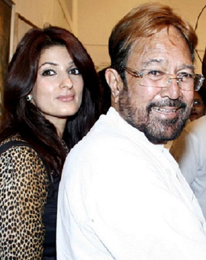 Twinkle Khanna's Father Rajesh Khanna Always Wanted Her To ...