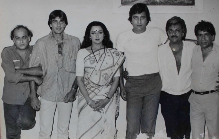 Vinod Khanna and Sanjay Dutt