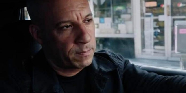 vin Diesel, The fate of the furious