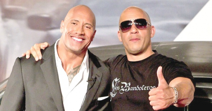 Dwayne Johnson, Vin Diesel