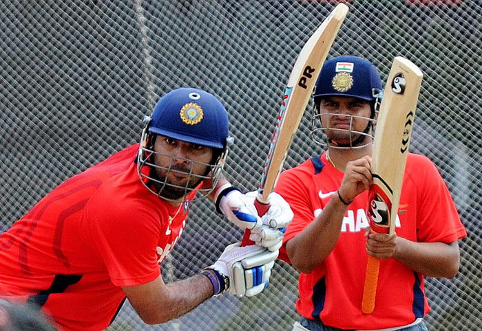 Yuvraj Singh and Suresh Raina