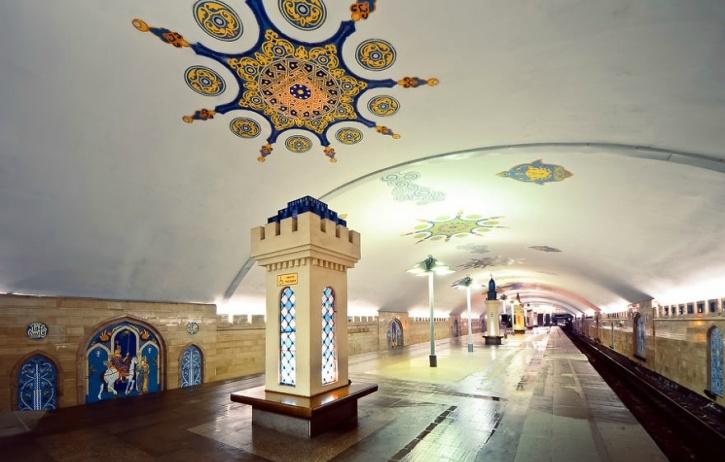 Kremlevskaya Metro Station, Kazan, Russia