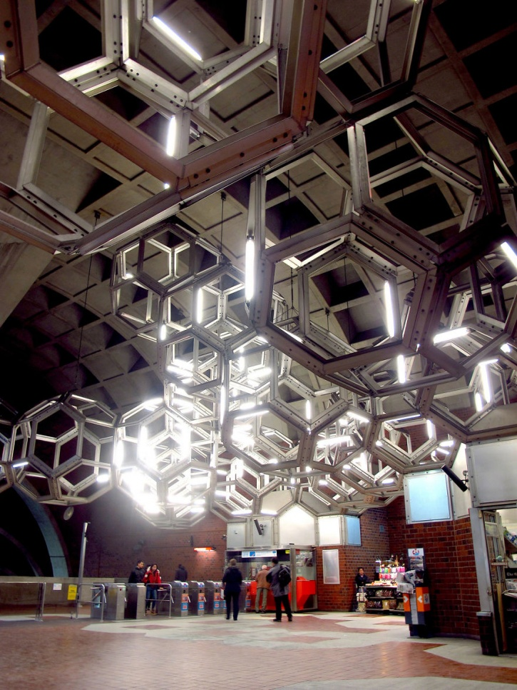 Namur Station Lighting, Montreal, Canada