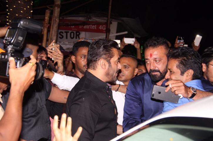 Sanjay Dutt and Salman