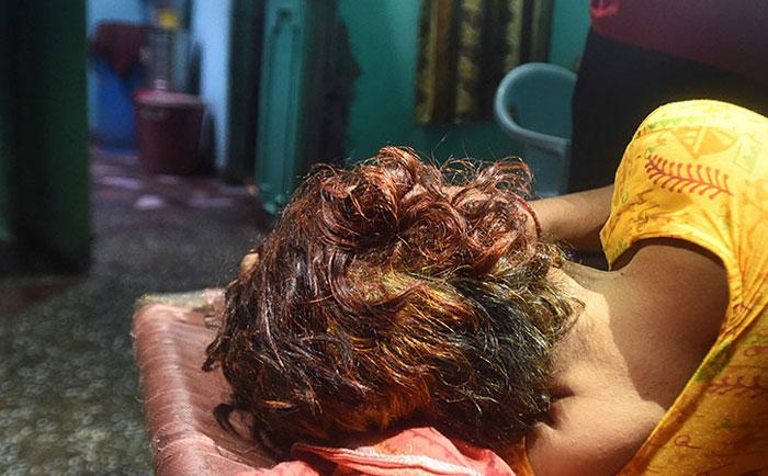 Hair Chopping