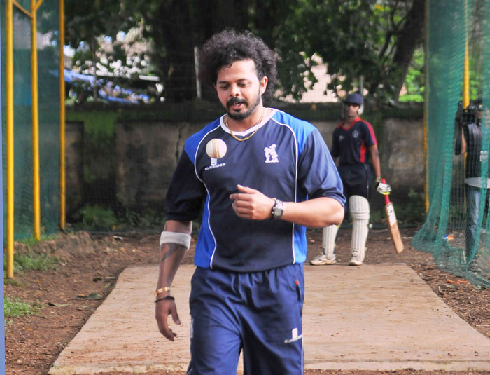 Cricketer Sreesanth